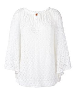 Missoni | Drawstring Neck Knitted Blouse 38