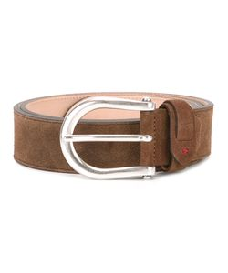 AL DUCA D'AOSTA | 1902 Buckled Belt 105 Leather/Suede