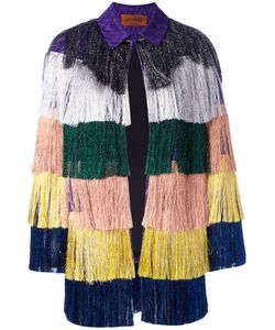 Missoni | Glittery Fringed Jacket Size 38