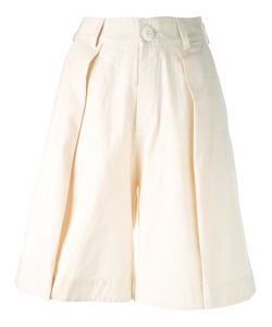 TOOGOOD   Front Pleat Shorts