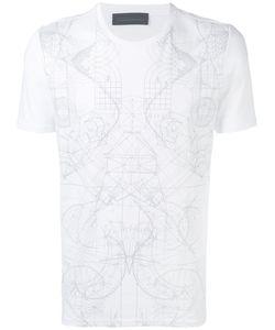 Diesel Black Gold | Tonal Graphic Print T-Shirt