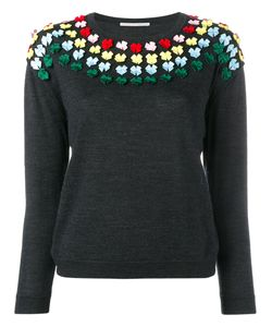 Marco De Vincenzo | Bow Embellished Knit 44 Wool/Polyester