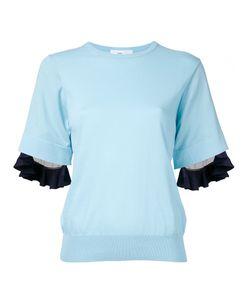 Toga | Ruffled Trim Sweatshirt 36 Cotton/Nylon/Polyester