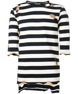 Maison Mihara Yasuhiro   Striped T-Shirt 48 Cotton