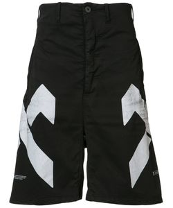 11 BY BORIS BIDJAN SABERI | Geometric Print Shorts Size Small