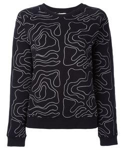 Zoe Karssen | Embroidered Sweatshirt Size Small