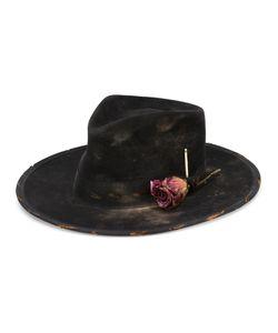 NICK FOUQUET   Rose Fedora Hat Size 57 Rabbit