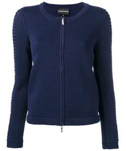 Emporio Armani | Zip Front Cardigan Size 42