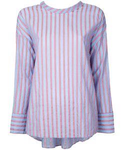 Cityshop | Рубашка С Полоску С Завязкой Сзади