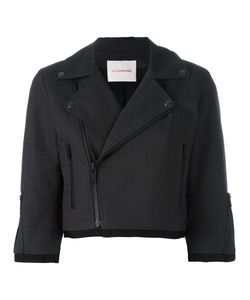 A.F.Vandevorst | Cropped Biker Jacket 38 Cotton
