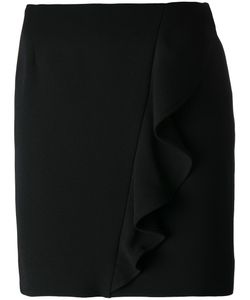 Iro | Ruffle Detail Skirt 36 Polyester/Polyurethane/Cotton/Viscose
