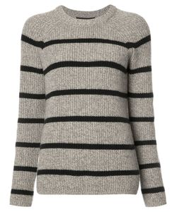 Jenni Kayne | Striped Jumper Small Cashmere