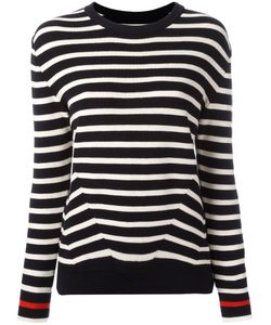 Chinti And Parker | Breton Stripe Jumper Medium Cotton/Cashmere