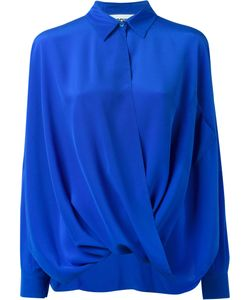 Moschino | Draped Shirt 40 Silk