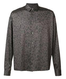 ROBERT GELLER | Leopard Print Shirt