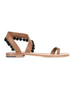 ÁLVARO | Angela Sandals 36 Calf Leather/Leather