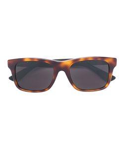 Gucci Eyewear | Web Trim Rectangular Sunglasses Size
