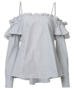 Rebecca Vallance | Parker Frill Shirt Size 6