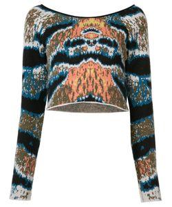 BAJA EAST | Cropped Tiger Stripe Sweater