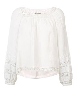 Sea | Embroidered Blouse Size 2
