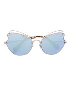 Miu Miu Eyewear   Butterfly Frame Sunglasses