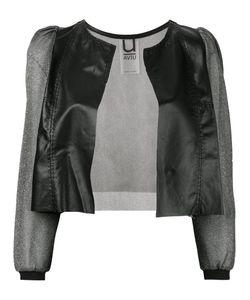Aviù | Sheer Sleeve Cropped Jacket