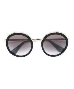 Prada Eyewear   Round Frame Sunglasses 54 Acetate/Metal