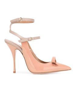 Red Valentino | Bow Detail Pumps 36 Calf Leather/Patent