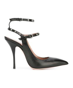 Red Valentino | Star Studded Pumps 37 Calf Leather/Leather