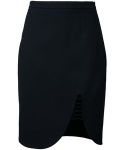 Alexander Wang | Lace-Up Skirt 0 Polyester