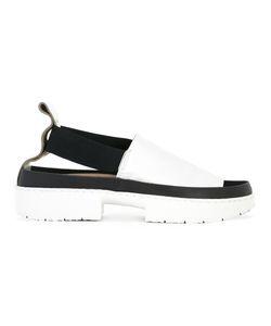 Trippen | Platform Sandals 39 Leather/Rubber