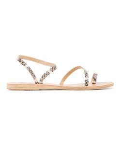 ANCIENT GREEK SANDALS | Python-Effect Eleftheria Strappy Sandals 39