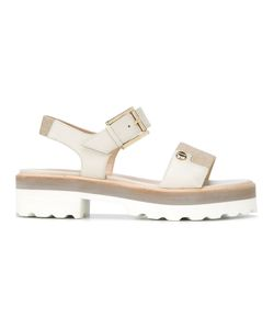 Fratelli Rossetti | Buckled Sandals 37 Leather/Rubber/Polyester