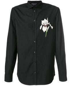 Alexander McQueen | Рубашка С Цветочной Вышивкой