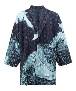 HOMME PLISSE ISSEY MIYAKE | Homme Plissé Issey Miyake Abstract Print Open Jacket 3