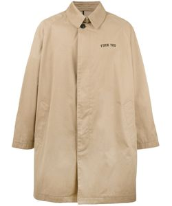 PALM ANGELS | Oversized Trench Coat 48 Cotton/Polyurethane