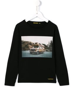 FINGER IN THE NOSE | Camper Van Print Long T-Shirt 10