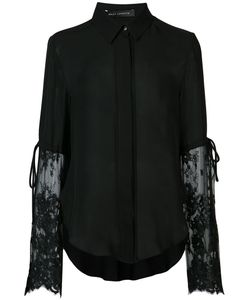 SALLY LAPOINTE | Lace Combo Blouse