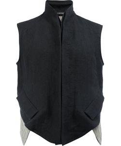 CEDRIC JACQUEMYN | High Neck Waistcoat 48 Linen/Flax