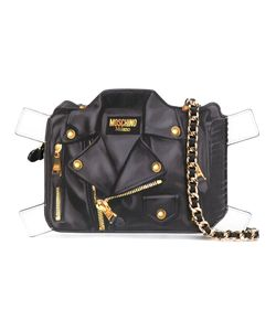Moschino | Paper Doll Tromp Loeil Biker Bag