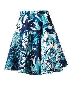 Eggs | Leaf Print Skirt 40