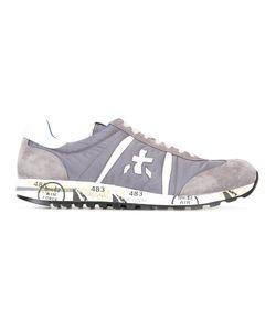 PREMIATA WHITE | Lucy Sneakers 45 Leather/Suede/Nylon/Rubber