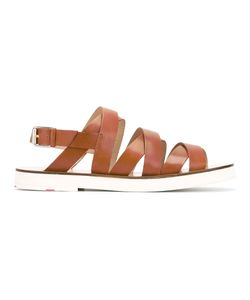 PS PAUL SMITH | Ps By Paul Smith Strappy Sandals Size 38 Calf