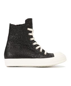 Rick Owens | Hi-Top Sneakers 44 Leather/Rubber