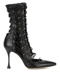 LUDMILA | Drury Lane Lace-Up Boots 36 Leather