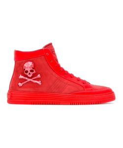 Philipp Plein | Skull And Crossbones Hi-Top Sneakers