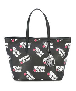 ARMANI JEANS | Logo Print Shoulder Bag