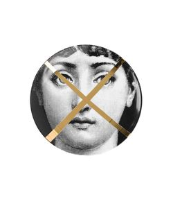 FORNASETTI   Face Print Plate One