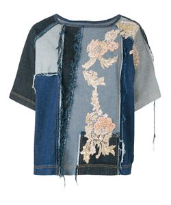 Antonio Marras | Embroidered Denim Top