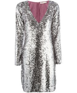 Amen | Sequin V-Neck Dress Size 46
